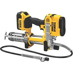 NEW DEWALT DCGG571M1 20V MAX CORDLESS GREASE GUN KIT WITH CA