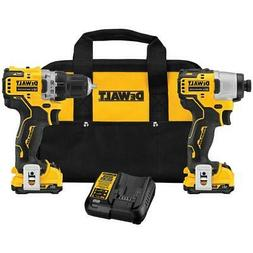 DeWALT DCK221F2 XTREME 12V MAX Brushless Cordless Drill and