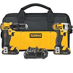 DEWALT DCK280C2R 20V MAX Lithium Ion Compact Drill/Driver an