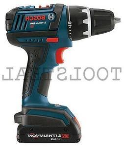 """Bosch DDS180B  18 Volt Li-Ion 1/2"""" Drill/Driver NEW"""