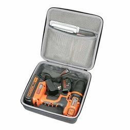 Decker Hard Case Wireless Cordless Drill ldx120c 20-Volt Max