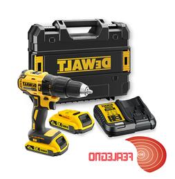 Drill Driver a Lithium Battery 18V Case 2BATTERIE DCD778D2T-