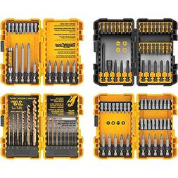 DEWALT 100 PC DRILL / DRIVER BIT SET W/  TOUGH CASES - DWA24