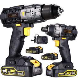 drill driver impact driver 20v max professional