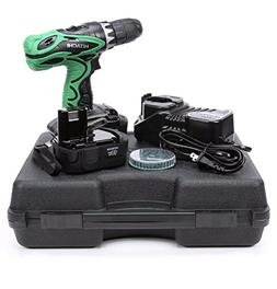 "Hitachi 18V 1/2"" Drill Driver Kit DS18DVF3M New"