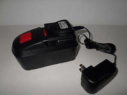 Drill Master 18 volt Battery & Charger Combo Lot Rechargeabl