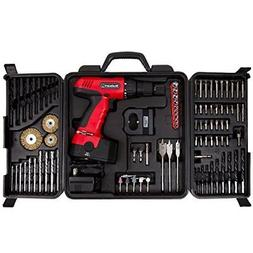 Drill Set New Stalwart 89-Piece 18V Cordless Battery Charger