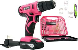 Apollo Tools Dt4937P Powerful 10.8 V Lithium-Ion Cordless Dr