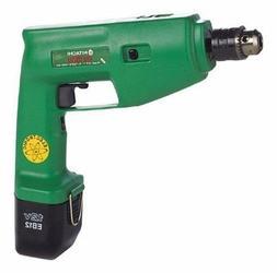 "Hitachi DV 12V 3/8"" Cordless Hammer Driver Drill with EB12 B"