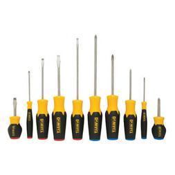 DeWALT DWHT62513 10-Piece Magnetic Tip Quad-Lobe Screwdriver