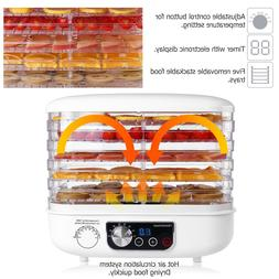 Electric 5 Tray FOOD DEHYDRATOR Beef Jerky Snack Machine Fru