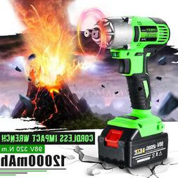 Electric Cordless Impact Wrench Drill Screwdriver 12000mAh 9
