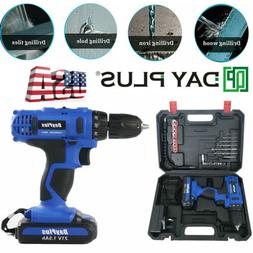 ELECTRIC DRILL 21V CORDLESS DRILL DRIVER RECHARGEABLE SCREWD