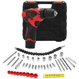 Electric Hand Drill Machine Cordless Household Screwdriver W