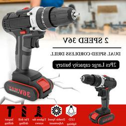 Electric Impact Cordless Drill High-power Wireless Rechargea