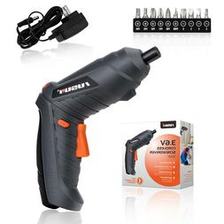 Electric Rotary 3.6V Cordless Screwdriver Power Rechargable