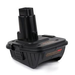 Enegitech DCA1820 Battery Adapter for Dewalt 18V Tool - Conv
