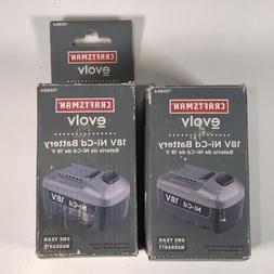 Craftsman #30864 18v EVOLV Ni-cd Battery New  IN BOX