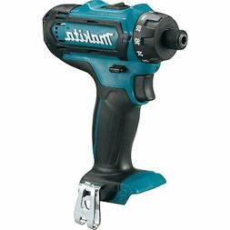 Makita FD06Z 12V MAX CXT Cordless Lithium-Ion 1/4 in. Hex Dr