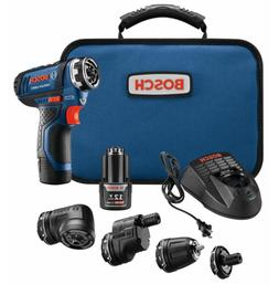 Flexiclick 12-Volt 1/4-in Cordless Drill Driver System Profe