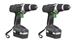 Genesis GCD18BK 18v Cordless Drill/Driver Kit, Grey