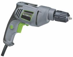Genesis GD38B VSR Electric Drill, 3/8-Inch, Grey - FREE SHIP
