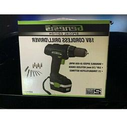 GENESIS GCD18CSE Genesis 18-Volt Cordless Drill Driver