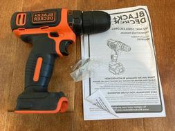 "Genuine OEM Black & Decker BDCDD12 12V CORDLESS 3/8"" Drill D"