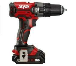 SKIL 20V 1/2 Inch Hammer Drill, Includes 2.0Ah PWRCore 20 Li
