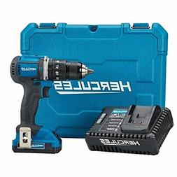 Hercules 20V Lithium Cordless 1/2 In. Compact Hammer Drill/D