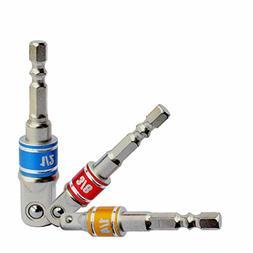 "1/4"" 3/8"" 1/2"" Hex Shank Adapter impact driver   Cordless Im"