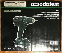 Metabo HPT Hitachi DS18DBFL2 QB 18V Cordless Driver Drill Ne