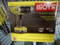 Ryobi HJP004L 12V Li-Ion Drill Driver Kit w/ C123D Charger a