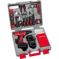 Homeowner's Apollo155 Piece Household Tool Kit 12V Cordless