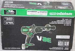 Metabo HPT Hitachi-Koki 36V Cordless Brushless Hammer Drill