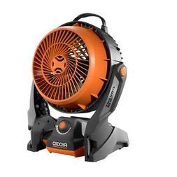 RIDGID Hybrid Fan GEN5X 18-Volt  - Rubber Handle Variable Sp