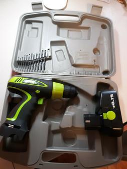 Kawaski 19.2v Cordless Drill 691220 Set w/ Battery + Case NO