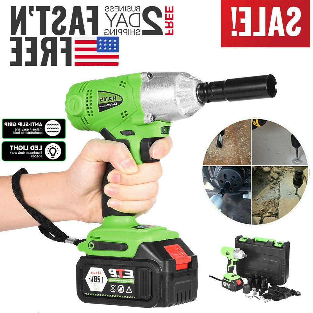 128vf electric cordless impact wrench 1 2