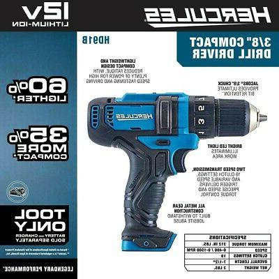12 V Drill Compact Variable Speed Only