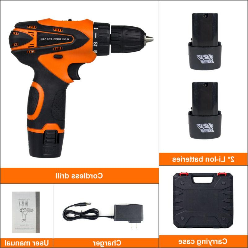 12 V drill Speed Electric