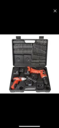 Stalwart 12-Volt Cordless Drill and 3.6-Volt Driver Set 74-P