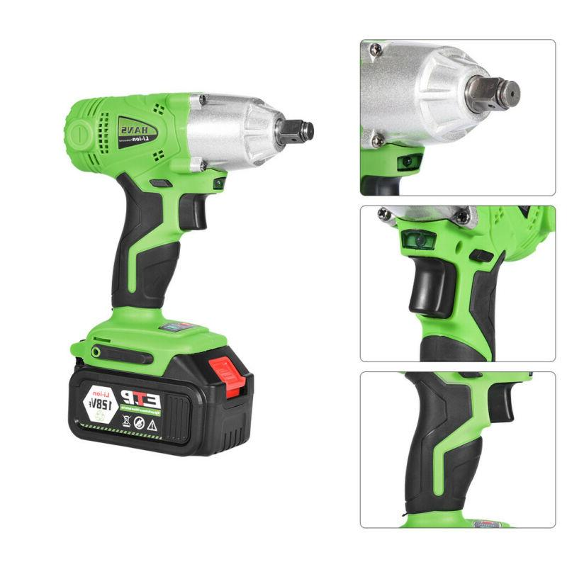 16800mAh 1/2'' Electric Brushless Cordless Wrench High Torque Tool