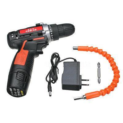 12V 2 Drill Kit Detachable Li-ion
