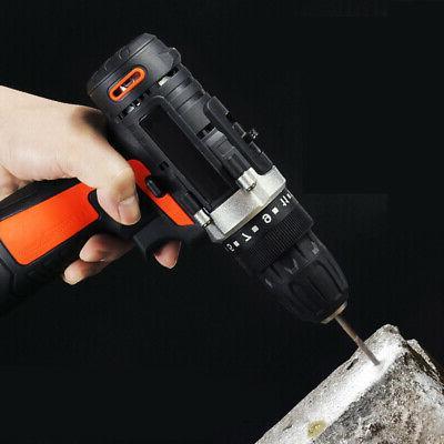 12V 2 Drill Driver Screwdriver Kit Battery