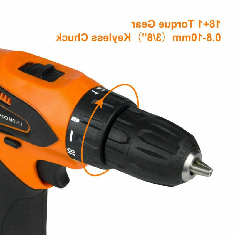 12 Speed Electric Set & Batteries