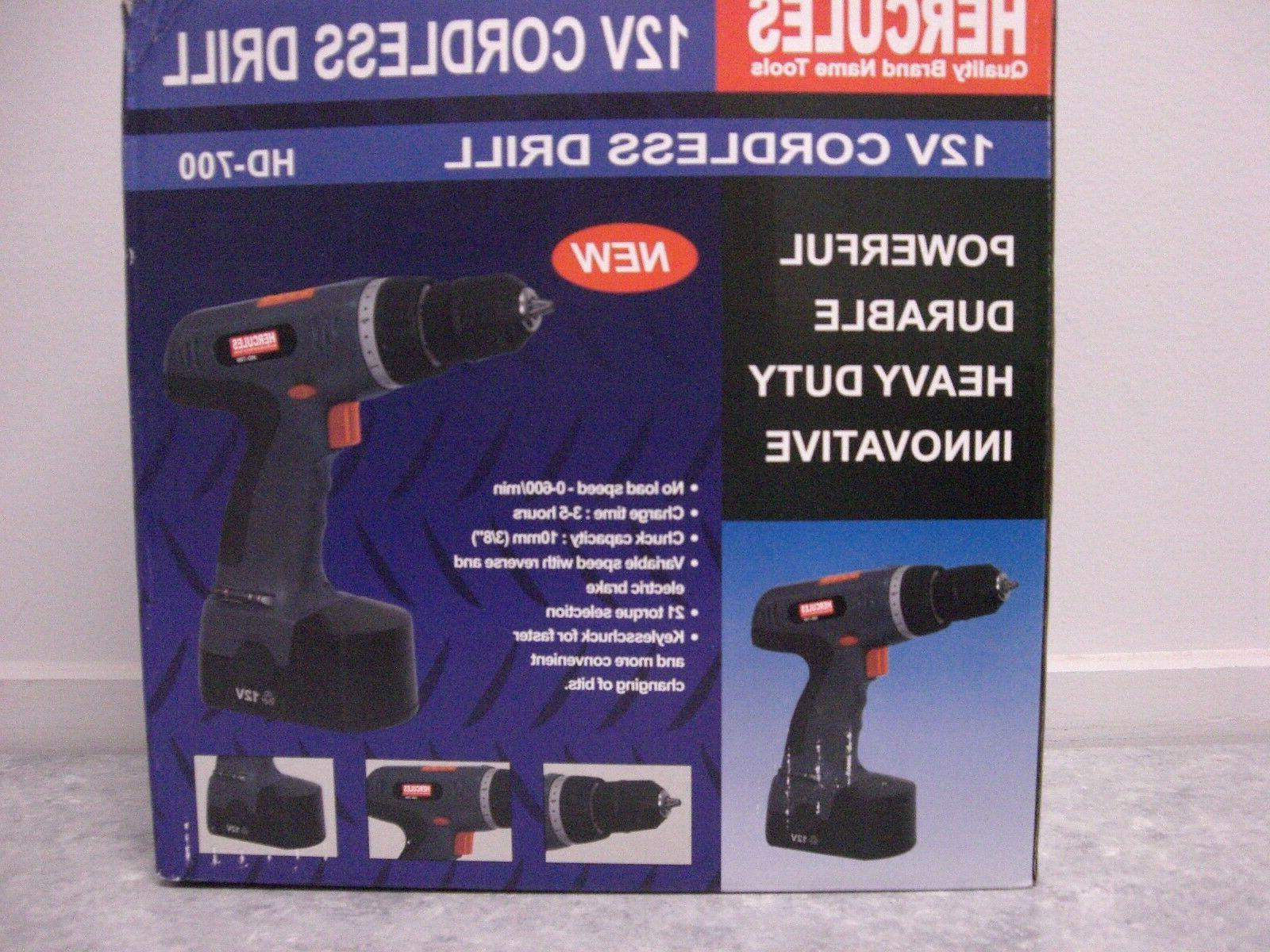 12v cordless drill model hd 700 free