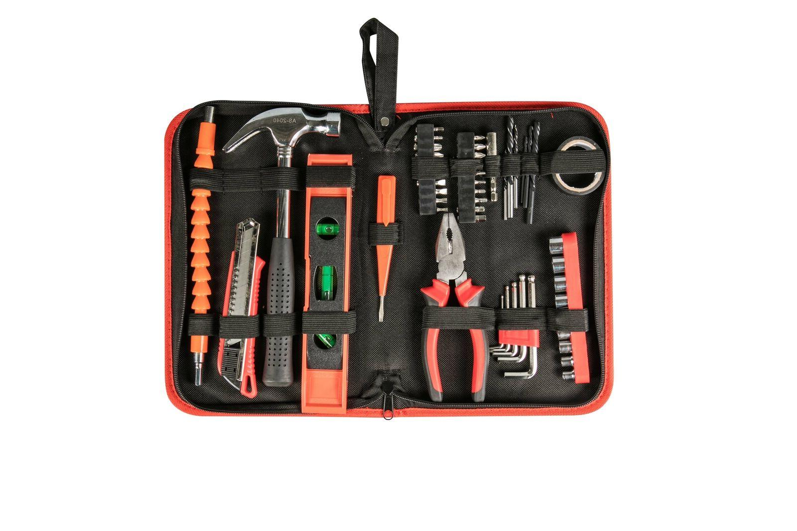 12V Cordless Drill, 1-Speed 21+1 Drill keyless Clutch With 50pcs Hand Tools