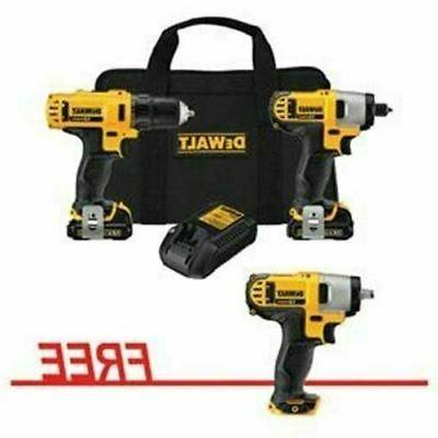 12v drill driver and impact driver combo