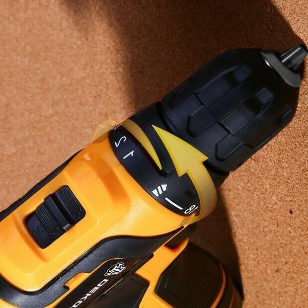DEKO 12V 18+1 Cordless Drill