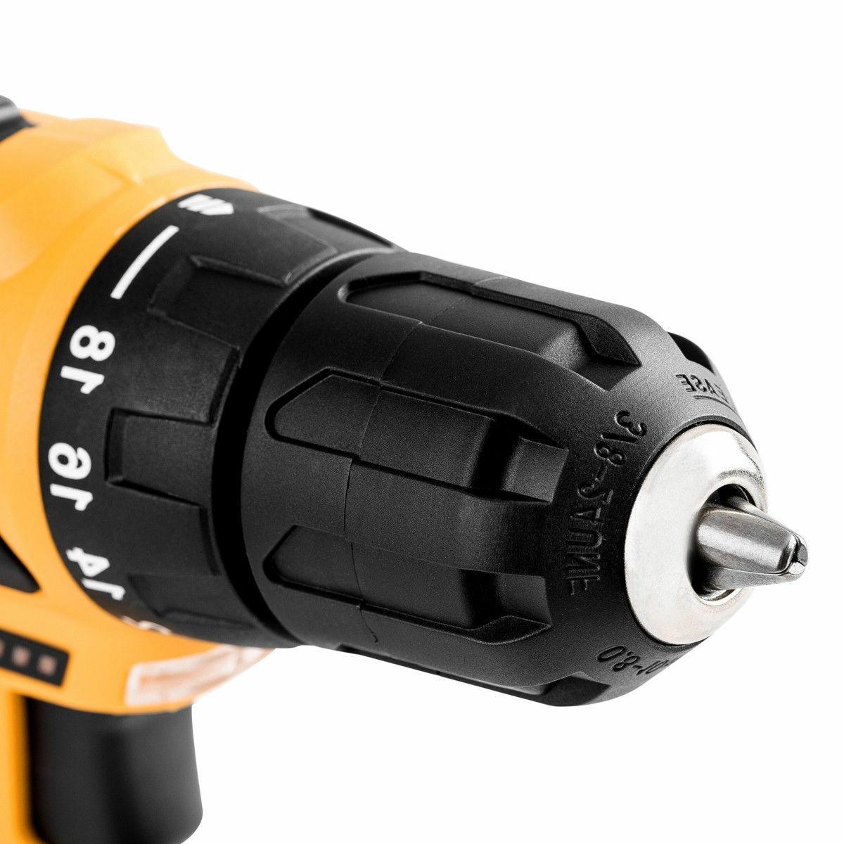 DEKO 12V 18+1 Driver Cordless 2-Speed Drill
